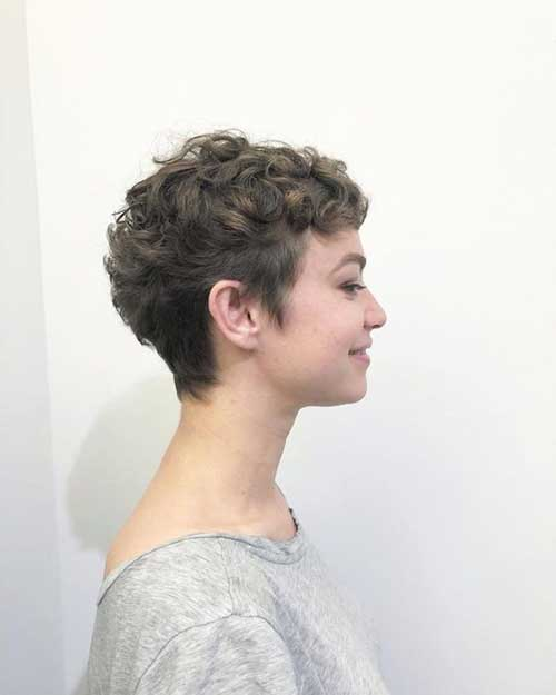 Trendy Curly Pixie Hairstyles-6