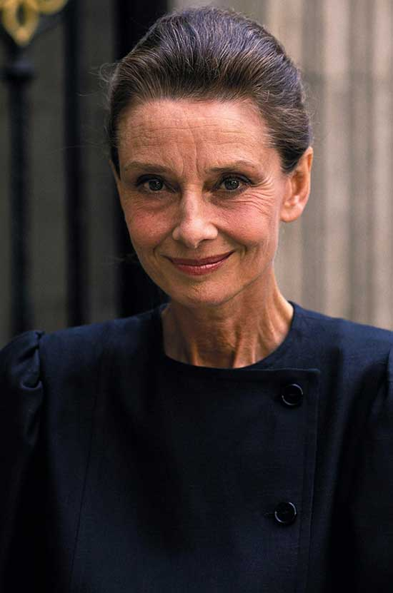 Audrey Hepburn Short Haircuts for Women Over 60