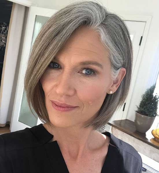 Classy Short Haircuts for Women Over 60