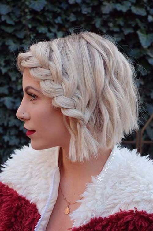 Cute Short Braid Hairstyles 2020