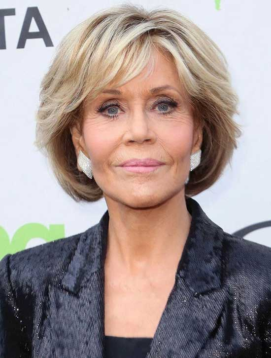 Latest Short Haircuts for Women Over 60