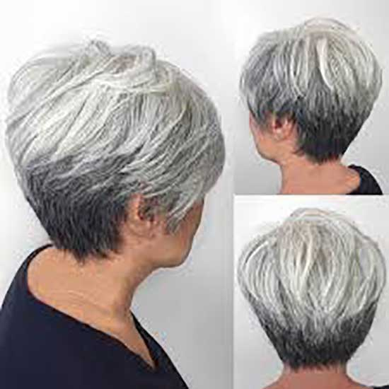 Modern Short Haircuts for Women Over 60