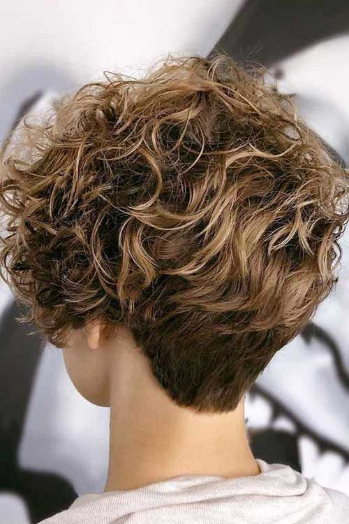 Pixie Short Haircuts for Frizzy Hair