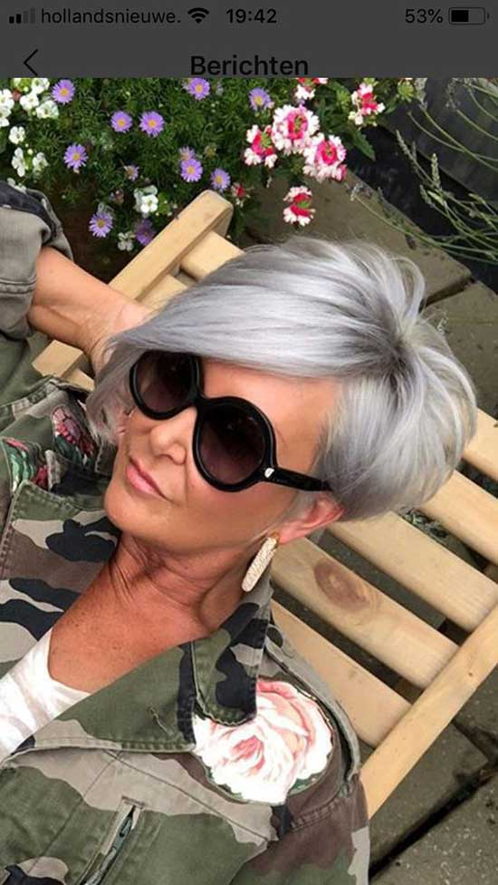 Popular Short Haircuts for Women Over 60