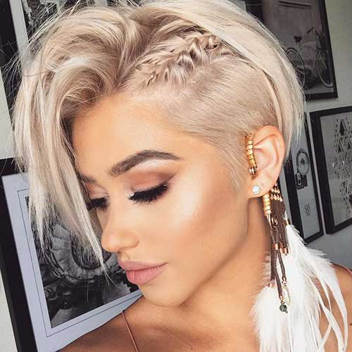 Short Braid Pixie Hairstyles 2020