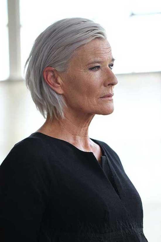 Short Elegant Haircuts for Women Over 60