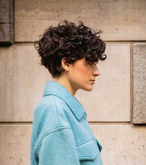 Short Haircuts for Fine Frizzy Hair