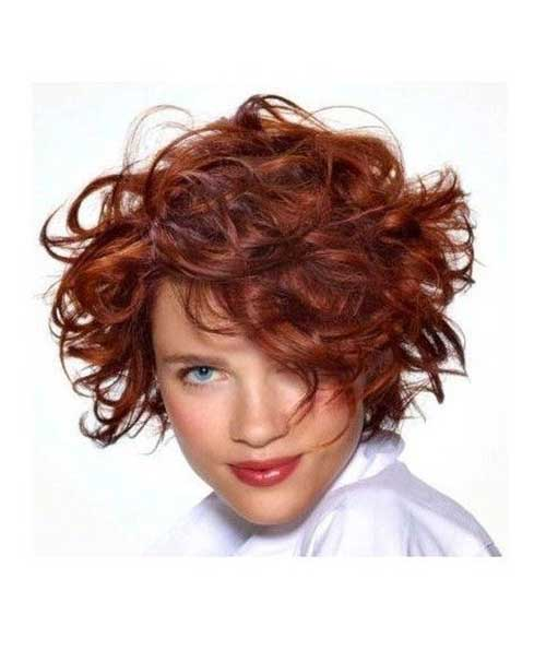 Short Haircuts for Frizzy Angled Hair