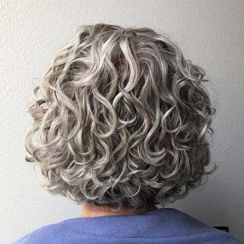Short Haircuts for Frizzy Hair for Over 50 Women