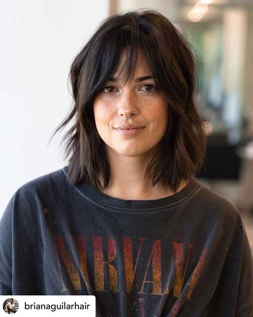 Short Haircuts for Frizzy Shoulder Length Hair