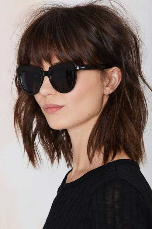 Short Haircuts for Wavy Frizzy Hair