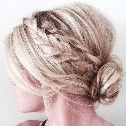 Short Half Up Braid Hairstyles 2020