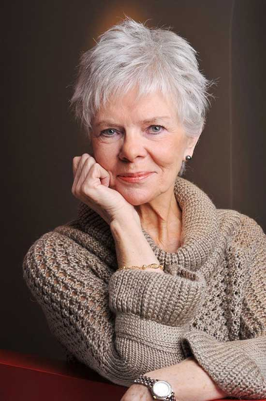 Short Layered Haircuts for Women Over 60