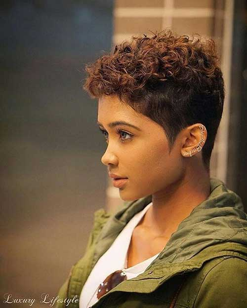 Short Haircuts for Natural Frizzy Hair