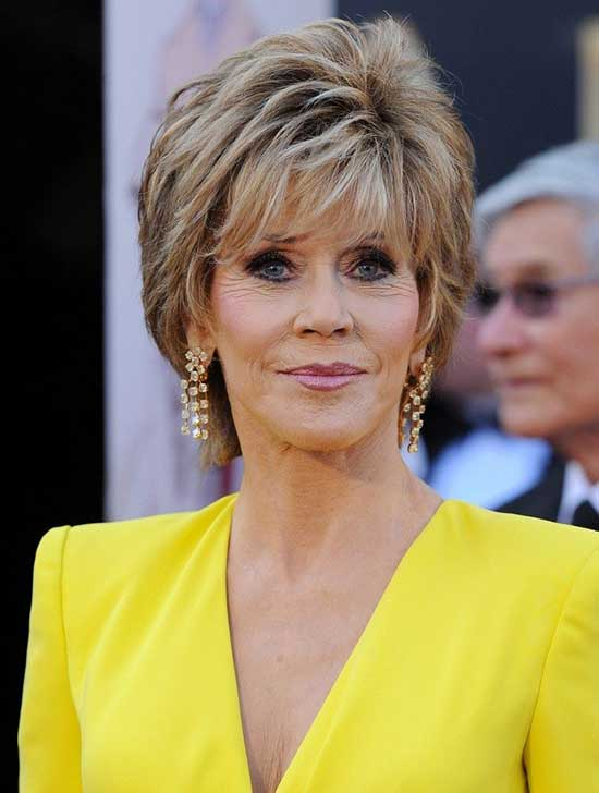 Short Thick Haircuts for Women Over 60