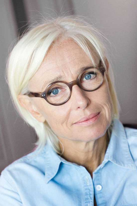 Short Thin Haircuts for Women Over 60