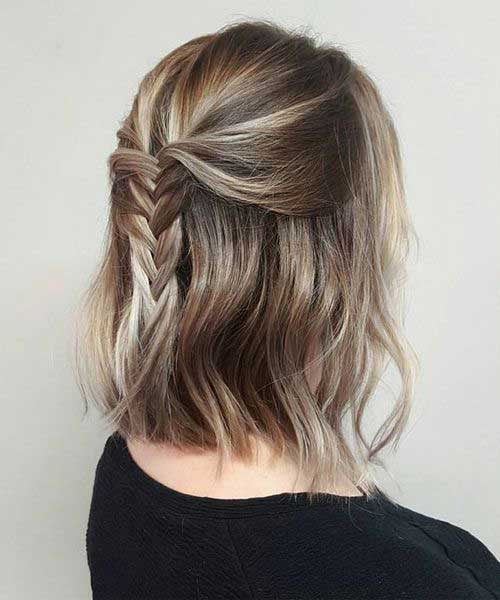 Trendy Short Braid Hairstyles 2020