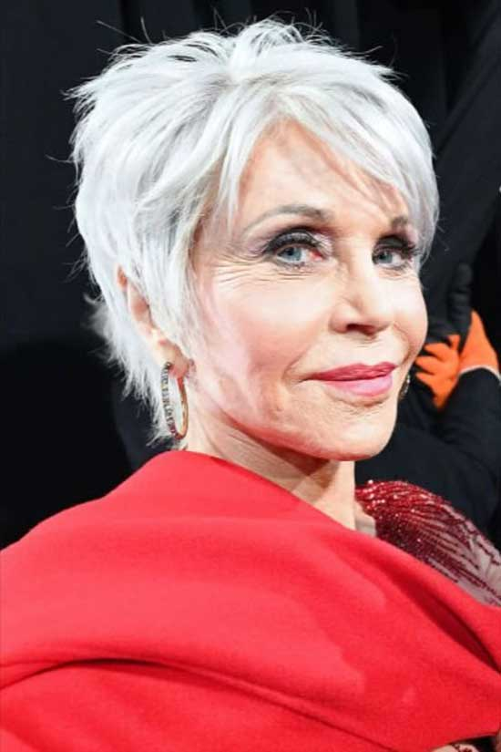 Trendy Short Haircuts for Women Over 60