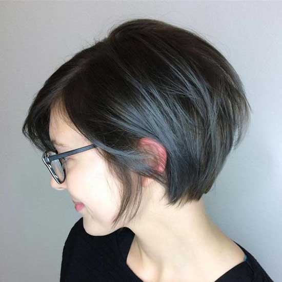 Cute Short Hairstyles with Glasses-10