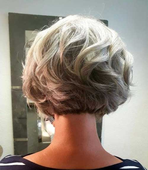 Short Hairstyles for Older 50 Ladies-10