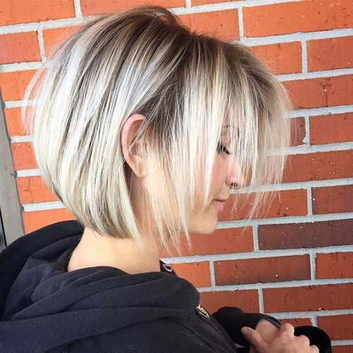 Short Stacked Styles for Fine Hair-11