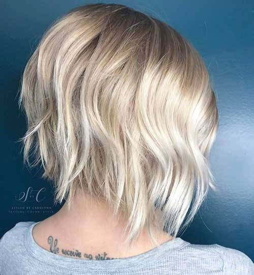 Short Layered Styles for Fine Hair-12