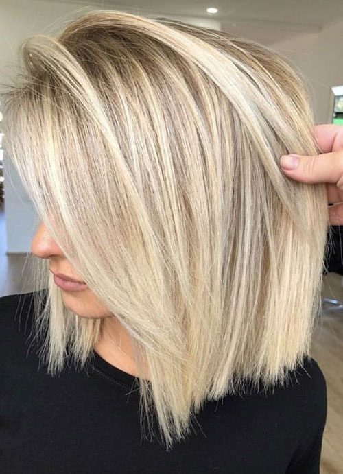 Straight Short Blonde Hairstyles-12