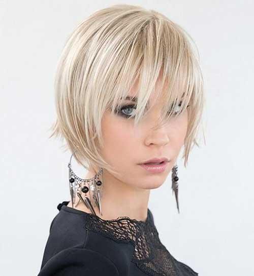 Trendy Straight Short Hairstyles-15