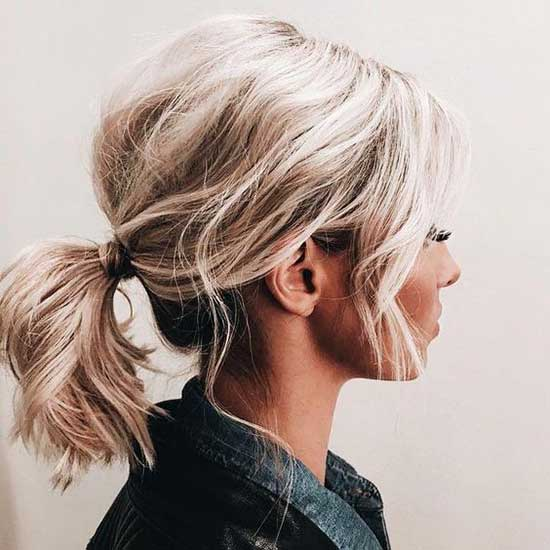 Cute Short Updo Hairstyles-16