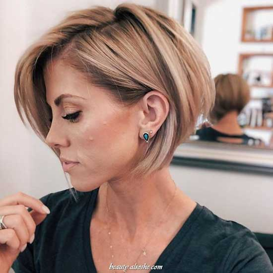 Cute Short Hairstyles 2020-17