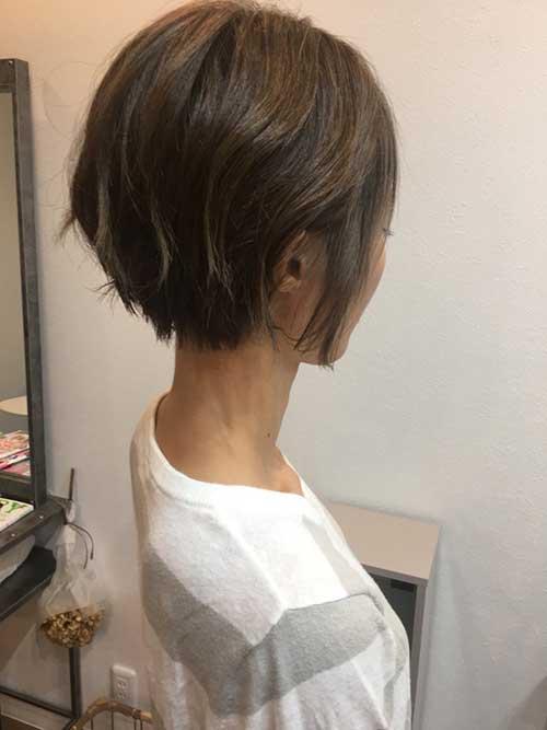 Modern Short Styles for Fine Hair-18