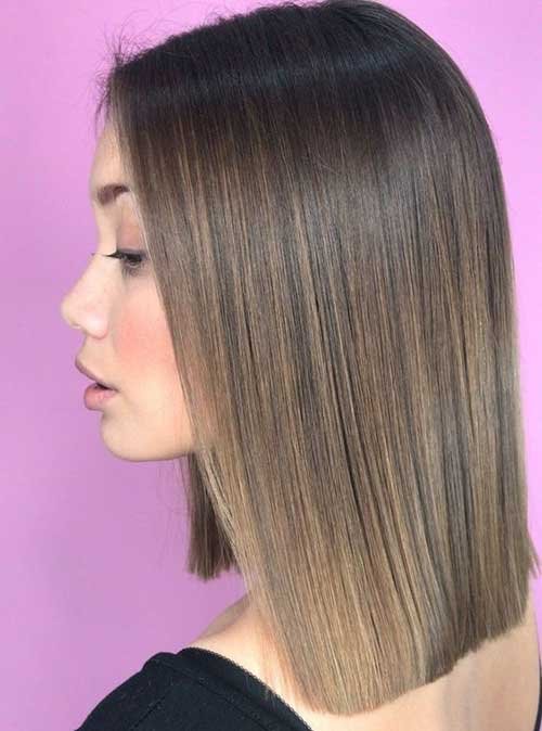 Stylish Straight Short Hairstyles-18
