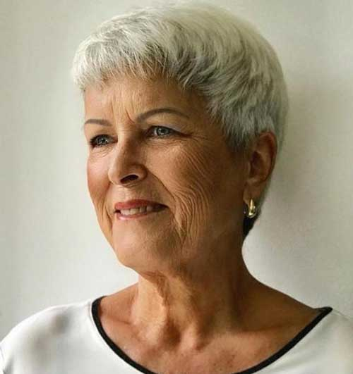 Very Short Tapered Hairstyles for Older Ladies-18