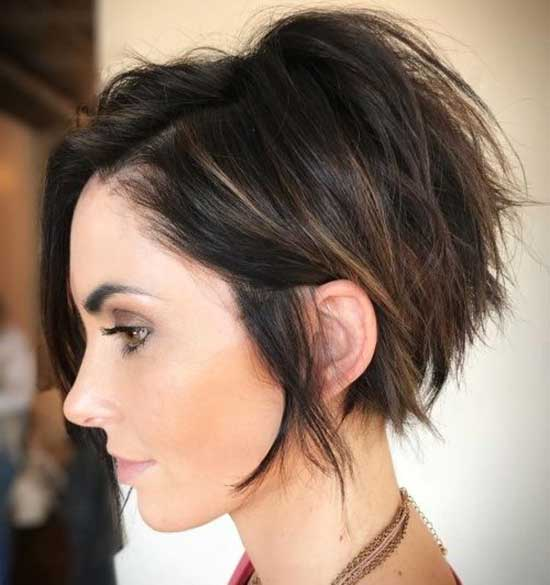 Cute Short Layered Hairstyles-23