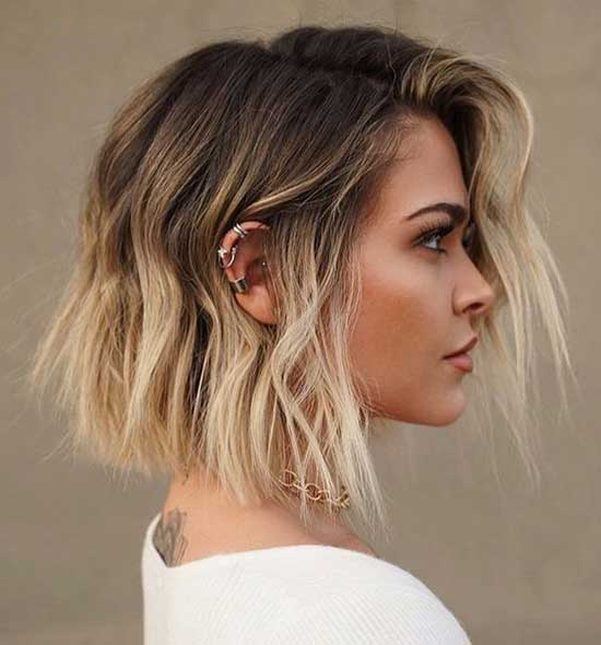 Cute Short Hairstyle Trends-27