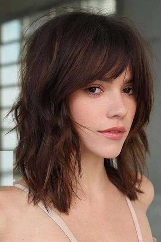 Cute Short Medium Hairstyles-31