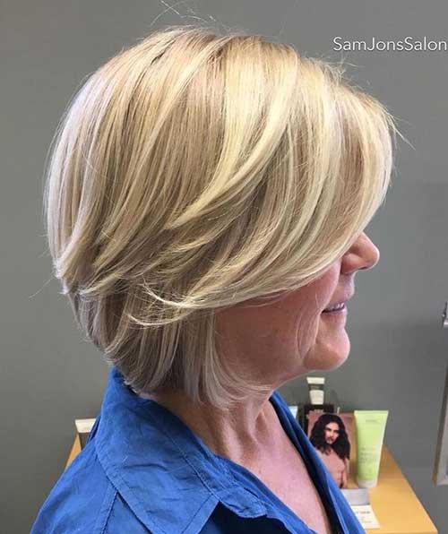 Short Hairstyles for Older Ladies-32
