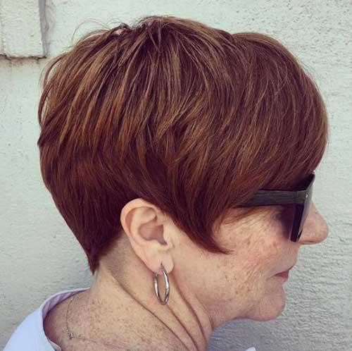 Short Hairstyles for Older Ladies-34
