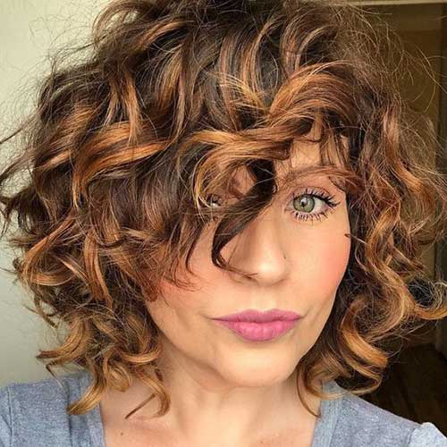 Curly Bob Layered Styles-6