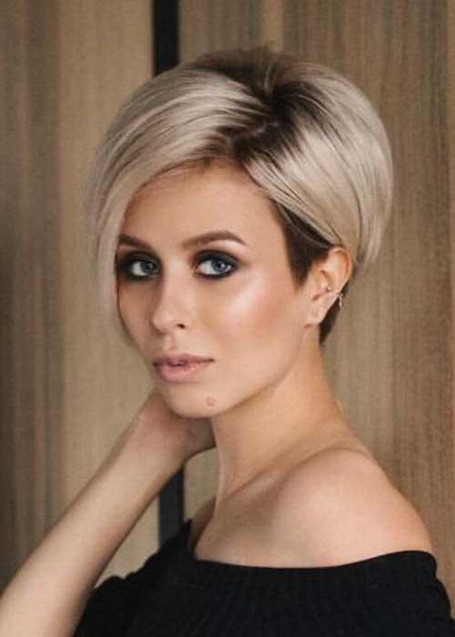 Short Blonde Styles for Fine Hair-8