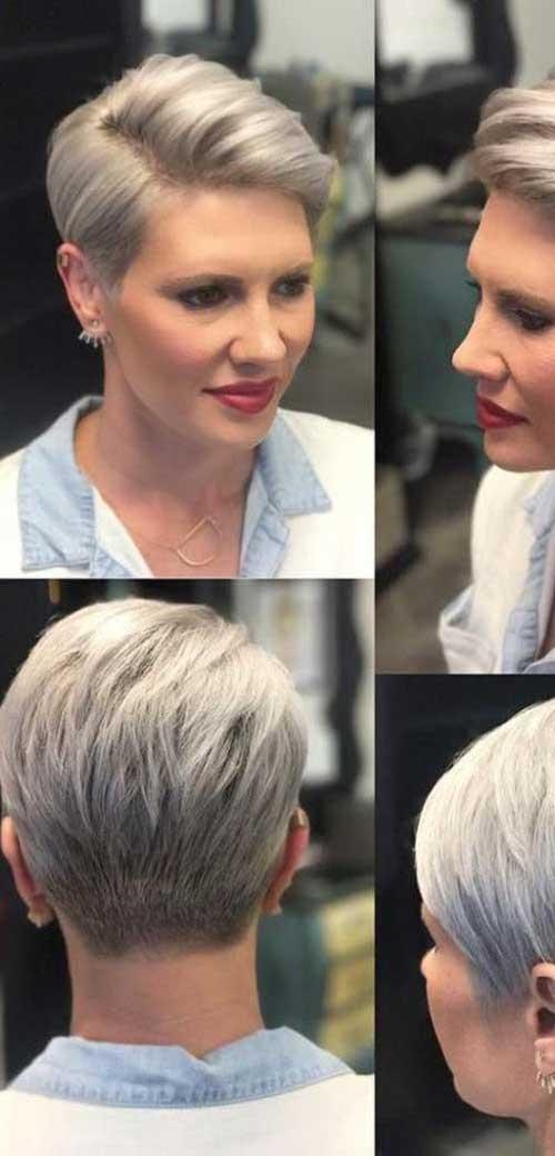 Short Pixie Hairstyles for Older Ladies-8