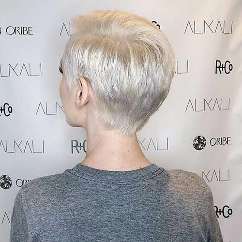 Cute Blonde Pixie Cuts