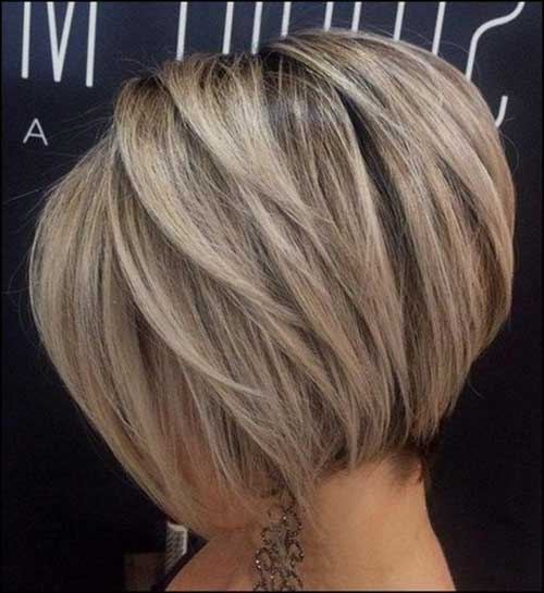 Bob Haircuts for Thick Hair Round Face