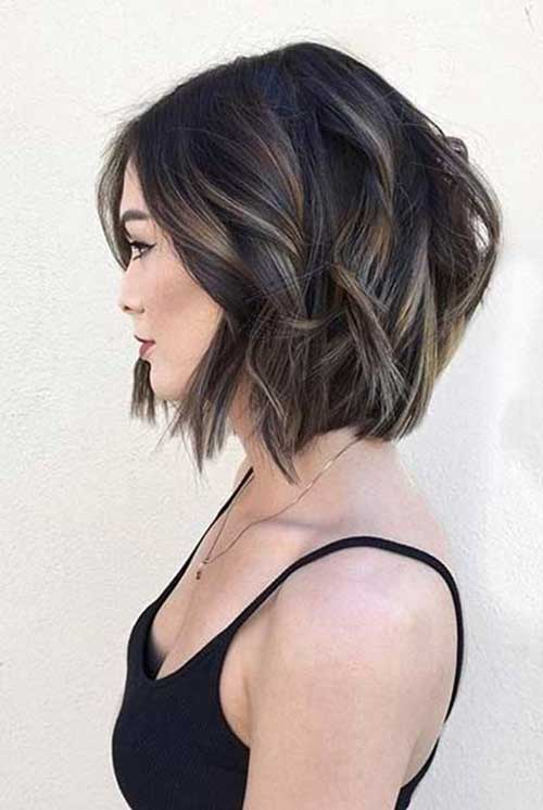 Bob Haircuts for Thick Hair Women Over 30