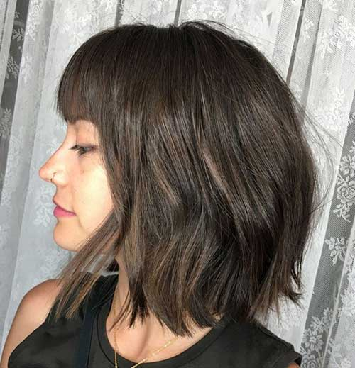 Bob Cuts for Thick Hair