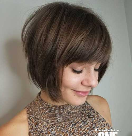Bob Haircuts with Bangs for Thick Hair