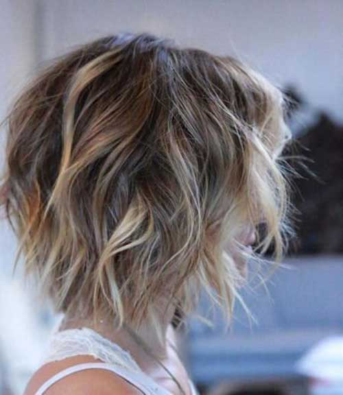 Choppy Bob Haircuts for Thick Hair