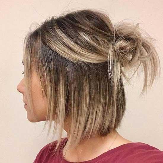 Cute Bun Hairstyles