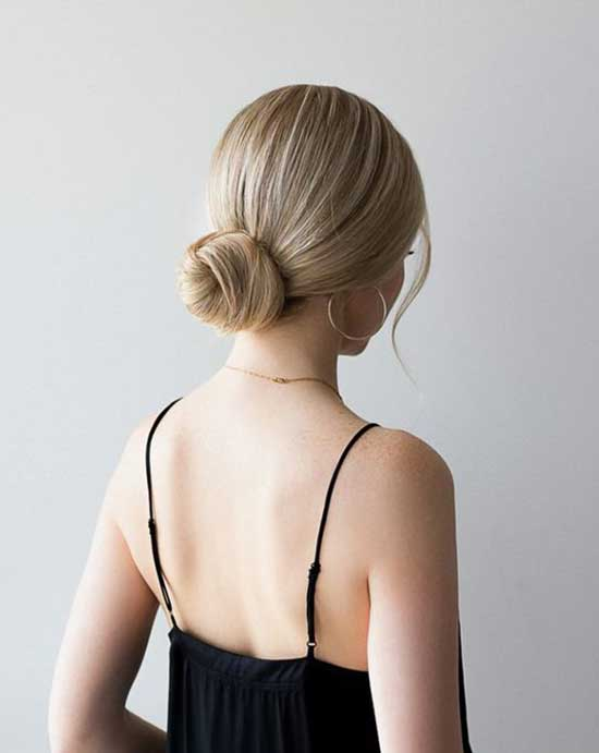 Easy Short Bun Hairstyles
