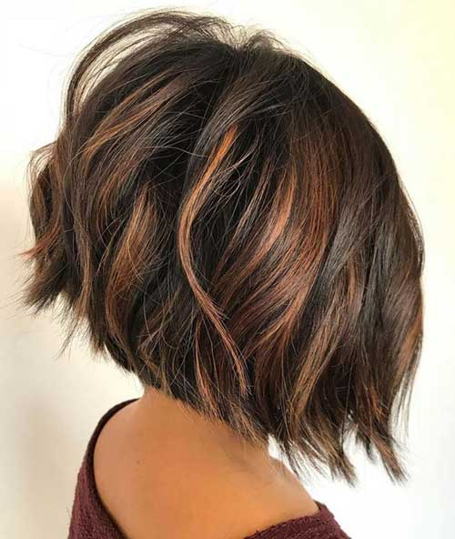 Graduated Bob Haircuts for Thick Hair